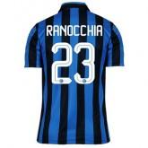 Maillot Inter Milan Ranocchia Domicile 2015 2016