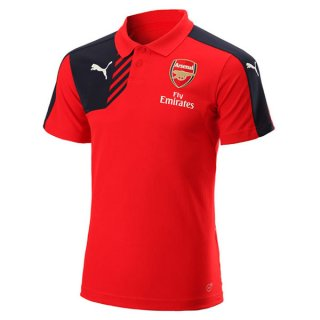 Maillot Arsenal Polo Rouge 2016