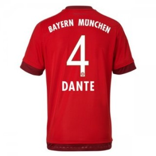 Maillot Bayern Munich Dante Domicile 2015 2016