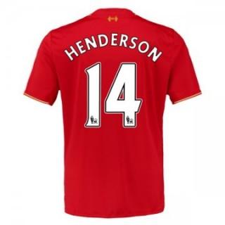 Maillot Liverpool Henderson Domicile 2015 2016
