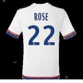 Maillot Lyon Rose Domicile 2015 2016