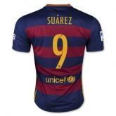 Maillot Barcelone Suarez Domicile 2015 2016