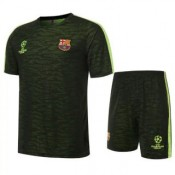 Maillot Formation Barcelone Champion Vert Fonce 2016