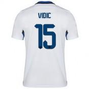 Maillot Inter Milan Vidic Exterieur 2015 2016