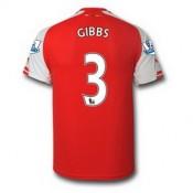 Maillot Arsenal Gibbs Domicile 2014 2015