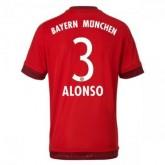 Maillot Bayern Munich Alonso Domicile 2015 2016