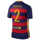 Maillot Barcelone Montoya Domicile 2015 2016