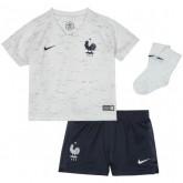 2018 2019 Ensemble Equipe de France Bébé Coupe du Monde 2018 Maillot Short Chaussettes Extérieur
