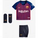 2018 2019 Ensemble Foot Barcelone Bébé Maillot Short Chaussettes Domicile