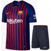 2018 2019 Ensemble Foot Barcelone Enfant Junior Maillot Short Domicile