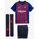 2018 2019 Ensemble Foot Barcelone Enfant Maillot Short Chaussettes Domicile