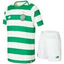 2018 2019 Ensemble Foot Celtic Glasgow Enfant Junior Maillot Short Domicile