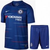 2018 2019 Ensemble Foot Chelsea Enfant Junior Maillot Short Domicile