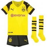 2018 2019 Ensemble Foot Dortmund BVB Enfant Maillot Short Chaussettes Domicile