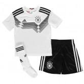 2018 2019 Ensemble Foot Enfant Allemagne Coupe du Monde Maillot Short Chaussettes Domicile