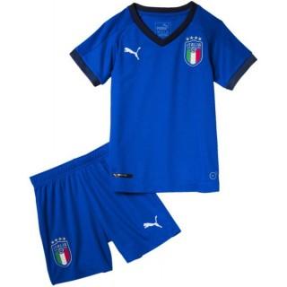2018 2019 Ensemble Foot Enfant Italie Domicile Maillot Short