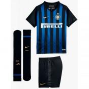 2018 2019 Ensemble Foot Inter Milan Enfant Maillot Short Chaussettes Domicile