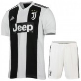 2018 2019 Ensemble Foot Juventus Enfant Junior Domicile Maillot Short