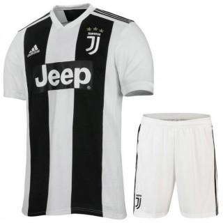 2018 2019 Ensemble Foot Juventus Enfant Junior Domicile Maillot Short