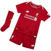2018 2019 Ensemble Foot Liverpool Enfant Maillot Short Chaussettes Domicile