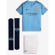 2018 2019 Ensemble Foot Manchester City Enfant Maillot Short Chaussettes Domicile