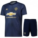 2018 2019 Ensemble Foot Manchester United Enfant Junior Maillot Short Third