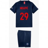 2018 2019 Ensemble Foot PSG MBAPPE Enfant Paris Saint Germain Maillot Short Chaussettes Domicile