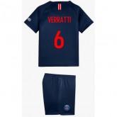 2018 2019 Ensemble Foot PSG VERRATTI Enfant Paris Saint Germain Maillot Short Chaussettes Domicile