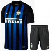 2018 2019 Homme Ensemble Foot Inter Milan Maillot Short Domicile