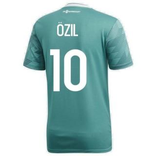 2018 2019 Homme Maillot Allemagne OZIL Coupe du Monde Extérieur