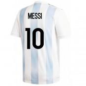 2018 2019 Homme Maillot Argentine MESSI Coupe du Monde Domicile