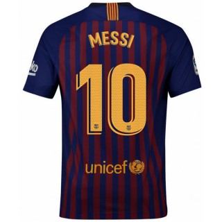 2018 2019 Homme Maillot Barcelone MESSI Domicile