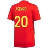 2018 2019 Homme Maillot Equipe de Espagne ASENSIO Coupe du Monde Domicile