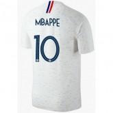 2018 2019 Homme Maillot Equipe de France MBAPPE Officiel Extérieur Coupe du Monde
