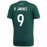 2018 2019 Homme Maillot Equipe de Mexique JIMENEZ Coupe du Monde Domicile