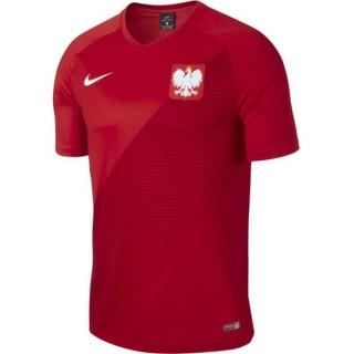 2018 2019 Homme Maillot Equipe de Pologne Fan Shirt Extérieur Coupe Du Monde