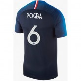2018 2019 Homme Maillot France POGBA Officiel Domicile Coupe du Monde