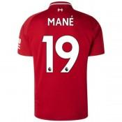 2018 2019 Homme Maillot Liverpool MANE Domicile 2018 2019