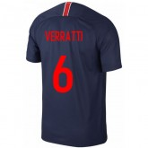 2018 2019 Homme Maillot PSG VERRATTI Paris Saint Germain Domicile