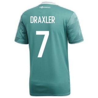 2018 2019 Homme Maillot de Foot Allemagne DRAXLER Coupe du Monde Extérieur