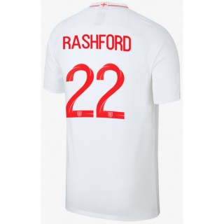 2018 2019 Homme Maillot de Foot Angleterre RASHFORD Officiel Domicile Coupe du Monde
