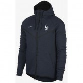 2018 2019 Homme Veste Coupe du Monde Equipe de France Fleece Windrunner