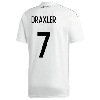 2018 2019 Maillot Allemagne Enfant DRAXLER Coupe du Monde Domicile