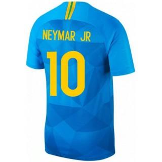 2018 2019 Maillot Bresil Enfant NEYMAR Extérieur Coupe du Monde 2018