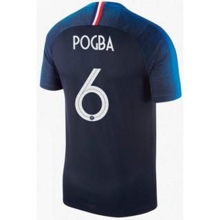 2018 2019 Maillot Coupe du Monde 2018 France Enfant POGBA Officiel Domicile