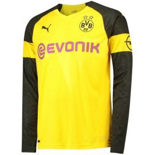 2018 2019 Maillot Dortmund BVB Enfant Domicile Manches Longues