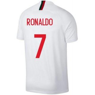 2018 2019 Maillot Equipe de Portugal Enfant RONALDO Extérieur Coupe du Monde