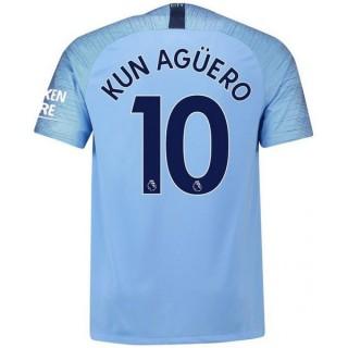 2018 2019 Maillot Manchester City Enfant AGUERO Domicile