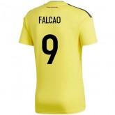 2018 2019 Maillot de Foot Colombie Enfant FALCAO Coupe du Monde Domicile