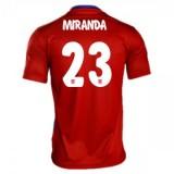 Maillot Atletico De Madrid Miranda Domicile 2015 2016